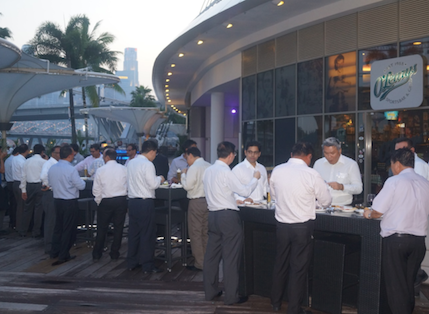 Singapore networking evening a hit